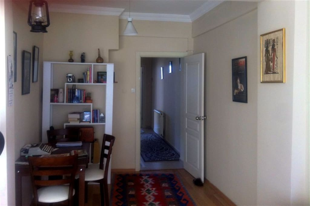 A part of the livingroom
