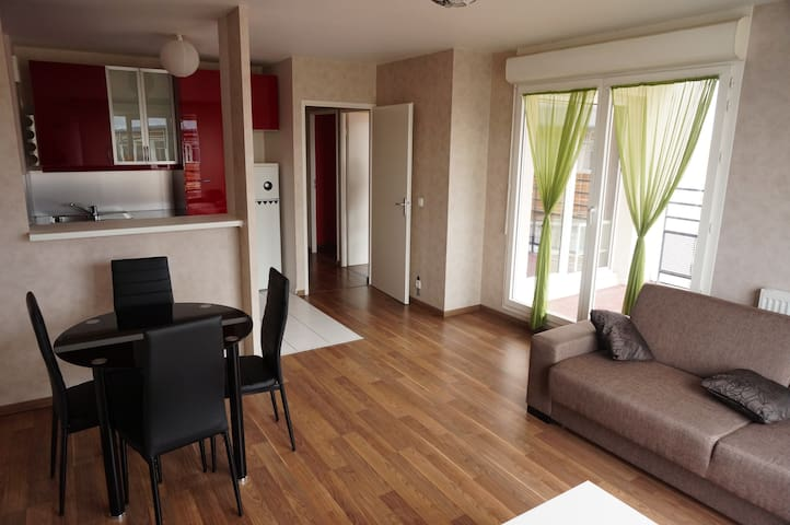 3 rooms Flat, 30mn champs elysées - Cergy - Apartment