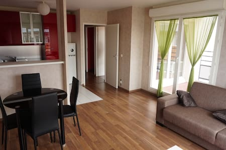 Appartement 3pièces à 30mn de Paris (face ESSEC) - Cergy - Wohnung