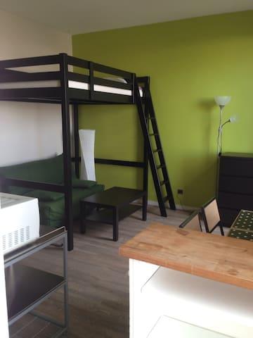 Studio meublé La Rochelle centre - La Rochelle - Apartament