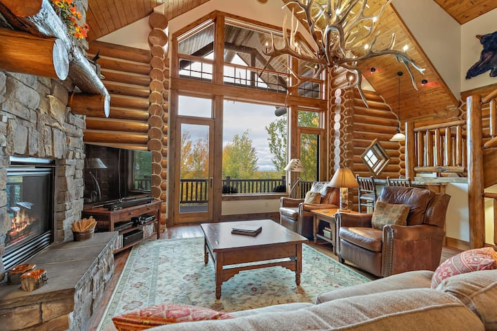 Teton Elk Cabin includes resort amenity access