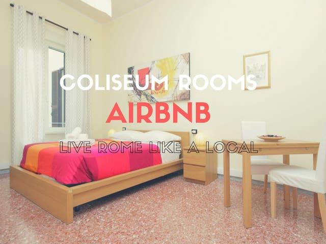COLISEUM ROOMS, Bright room 10min Colosseum