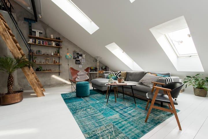 Unique apartement in Södermalm