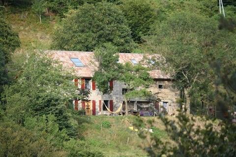 """Maison """"Utopie""""  au Paradoxe Perdu, Ardèche"""