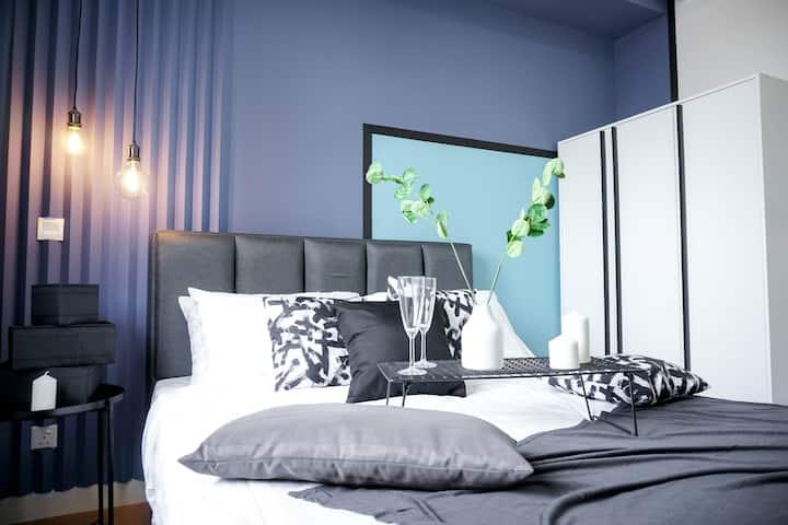 {NEW} 2pax Blue Opal Suite @Damansara, PJ