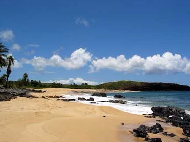 Beautiful Hawaii,Molokai Island,footsteps to Ocean