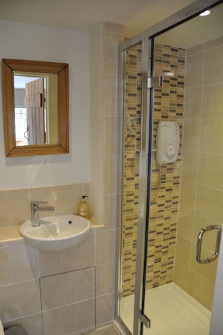 The Bathroom/ Shower Room (view 2)
