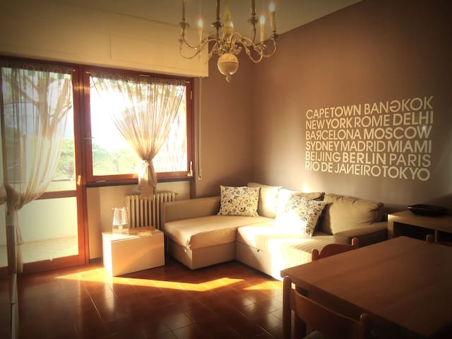 Two Rooms Apartment + Swimming Pool - Rapallo - Apartment