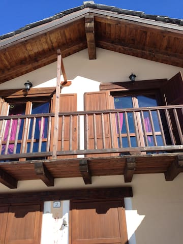 la montagna in totale realx - Saint-oyen - House