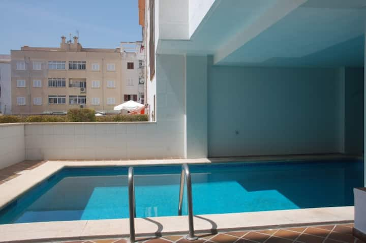 Holiday Apartment Costa i Llobera with Wi-Fi, Balcony, Garden & Pool; Parking Available