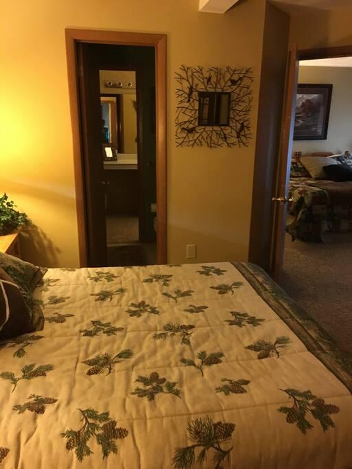 2 separate bedrooms