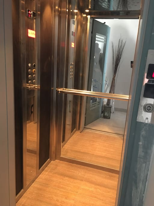 Internal lift in the property