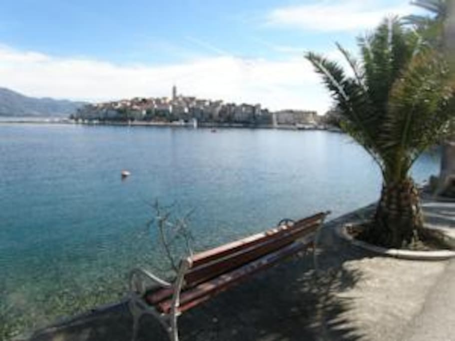 View of Korcula