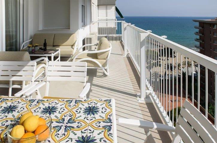 Playa Voramar vistas espectaculares