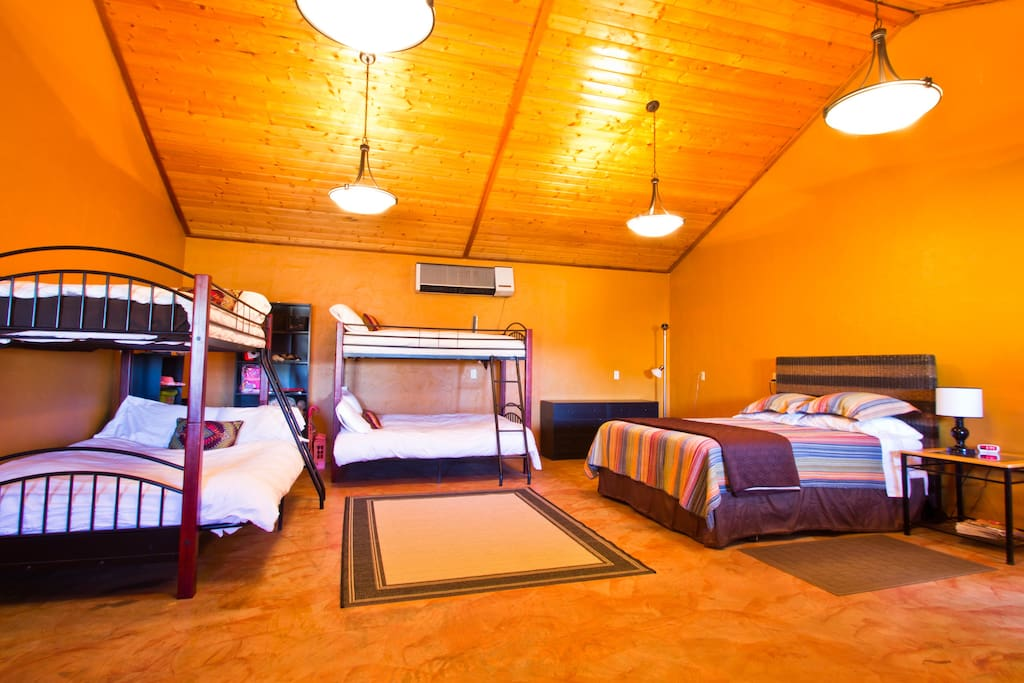 bunk room is great for large groups and families
