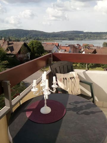 Seeblick Schloßhalde Bodensee