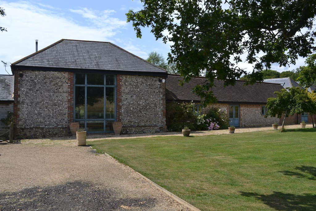 A beautifully converted barn in peaceful setting with all accommodation on the ground floor.