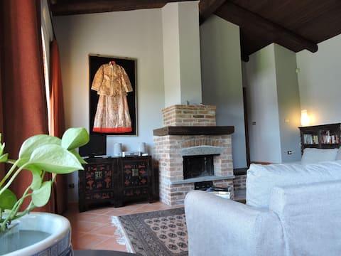 Asti - Cascina Volpona Apartment (private) 70 sq.