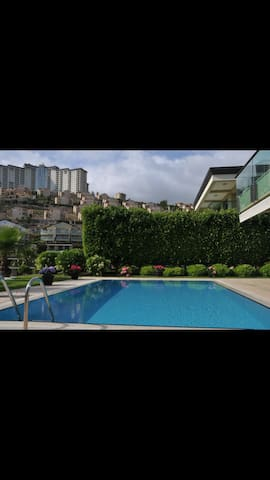 Luxury villa 3+1 with private pool - Alanya - Rumah