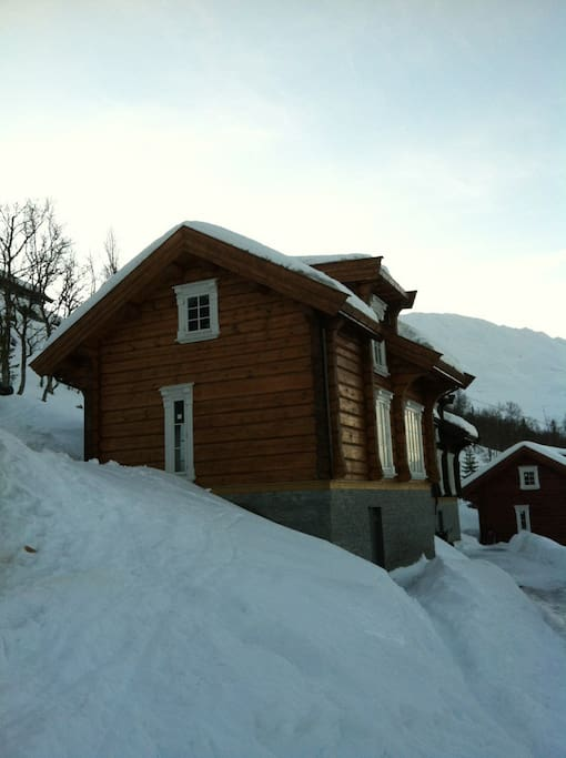 Mountain cottage. 1000 Meter above sea level