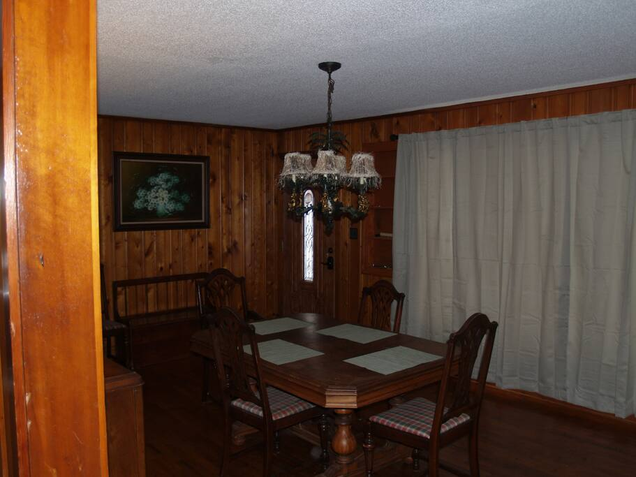 Formal dining room for 6