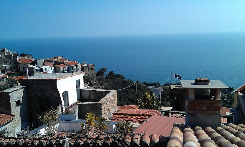 Large comf. panoramic sea view - Cipressa - House