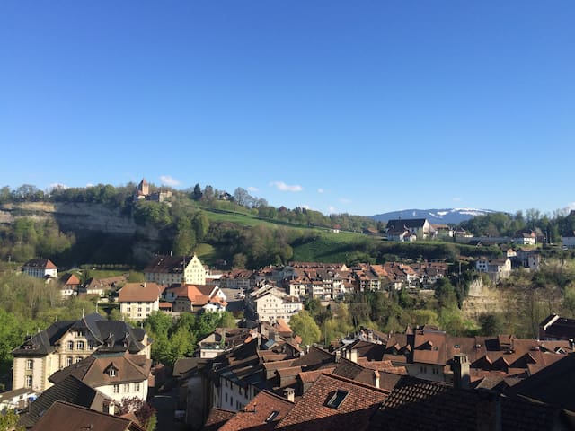 Cozy Stay in Old Town of Fribourg & Amazing View - Fribourg