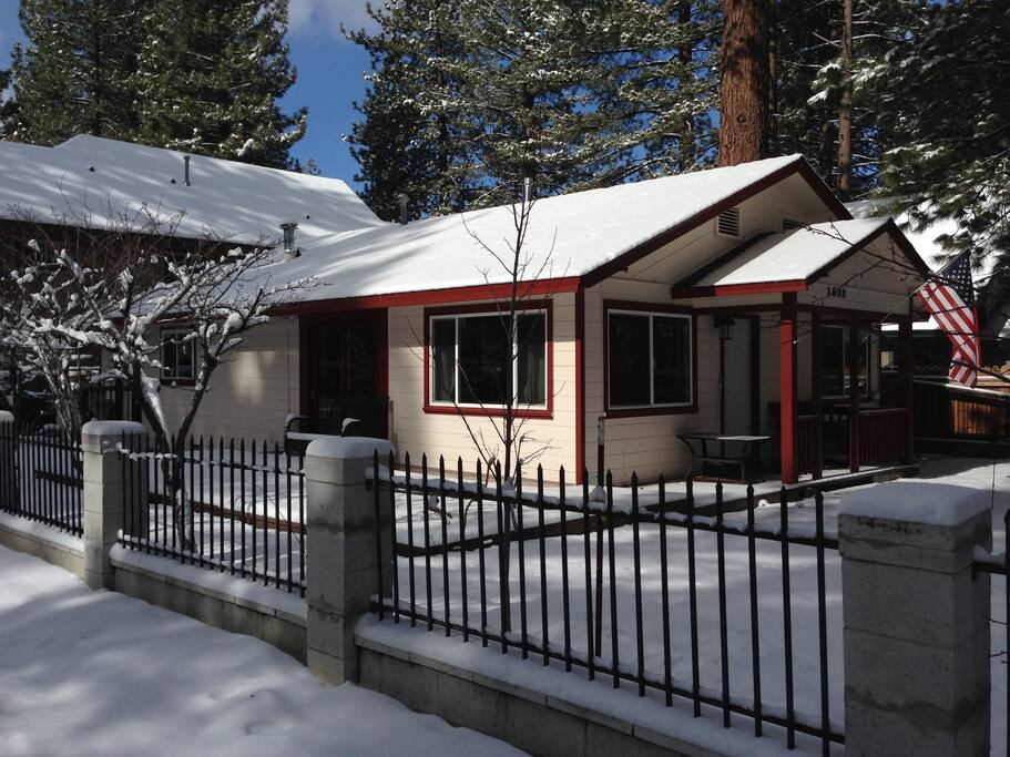 We've completely renovated this cabin's interior, and have recently replaced wall heaters with central heating system, new roof and fresh exterior paint.