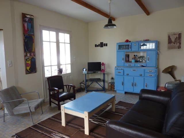 Casa con encanto cerca del mar - Saint-Michel-Chef-Chef - Casa