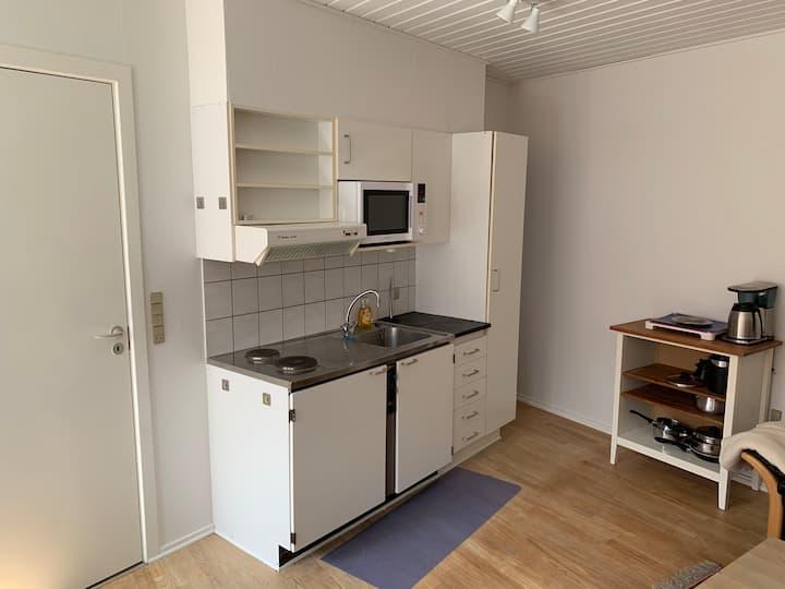 Central beliggende lejlighed i Nykøbing Mors