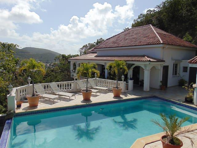 Chambre privée vue sur lagon - Cole Bay - Vila