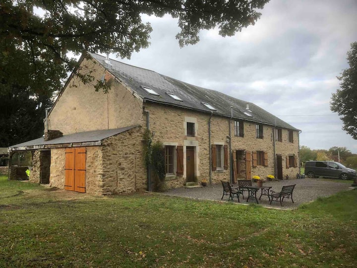 Serendipity farmhouse and barn