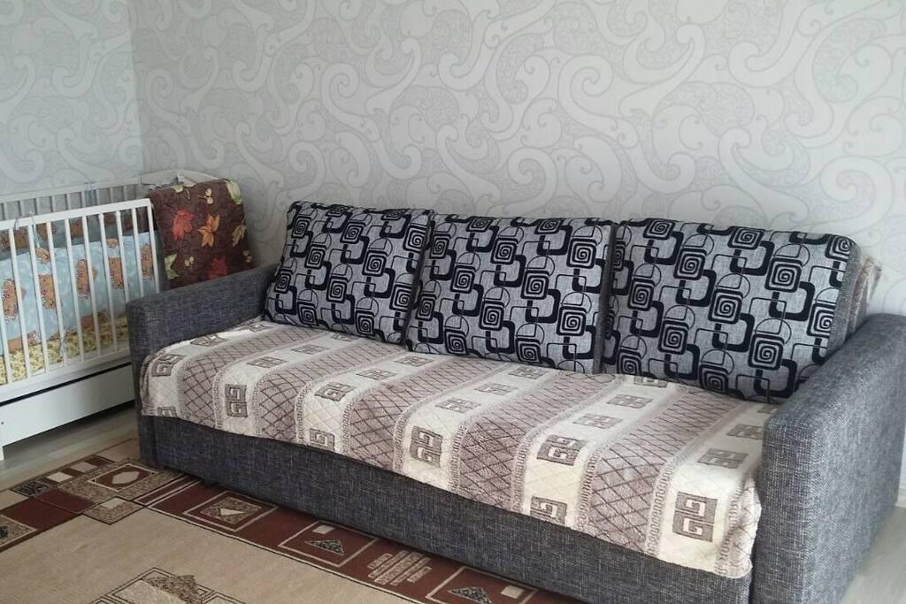два спальных места