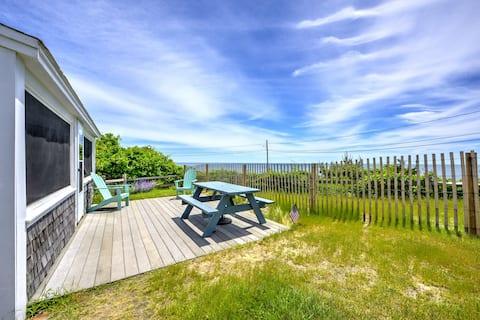 Oceanview Cottage, Million $ View Sea Street Beach