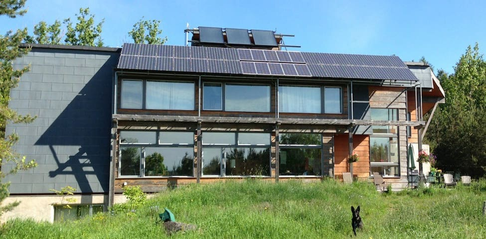 Ultimate Solar Powered Natural Home