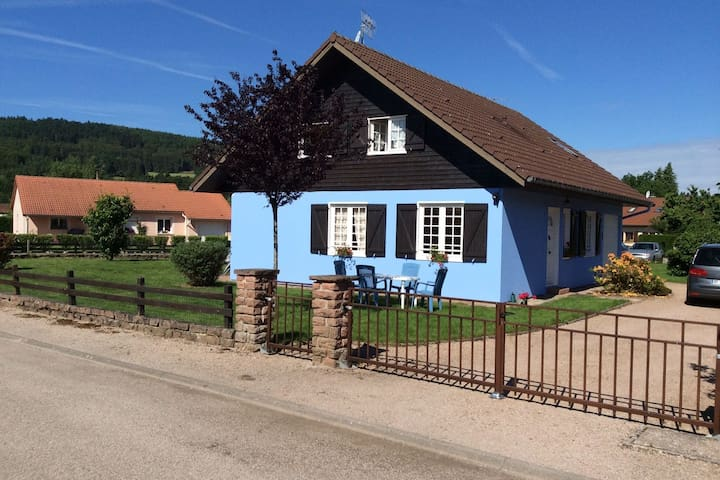 Cozy Chalet in Granges-sur-Vologne near Ski Area