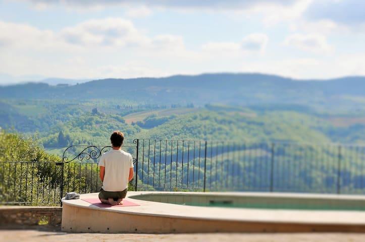 L' Olivo, cozy apartment in the heart of Chianti