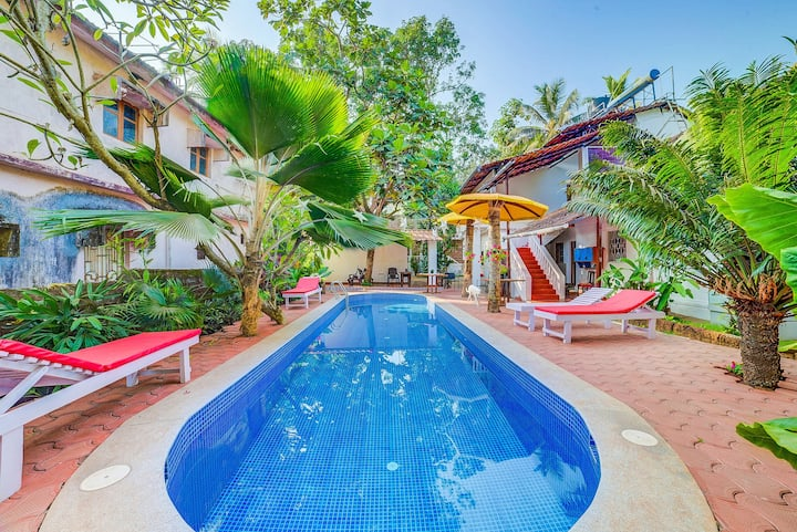 Boutique Room for Couple near Candolim Beach