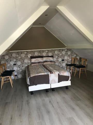 Appartement voor 2 personen, omgeven van rust