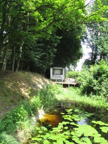 Gemeubileerde chalet,huisje te huur in bos (nr 3)