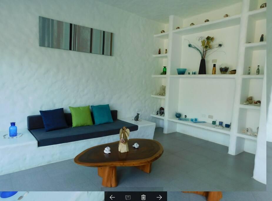 Acogedora sala. Cozy living room