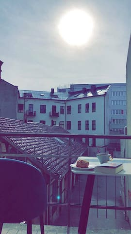 Renovated apartment in the middle of Oslo City.