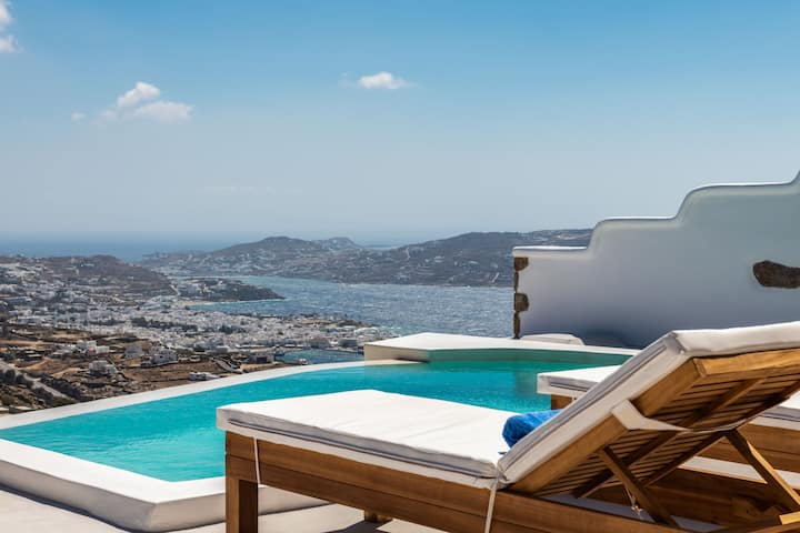 Mykonos Divino 6 - Sea View Studio, private pool!
