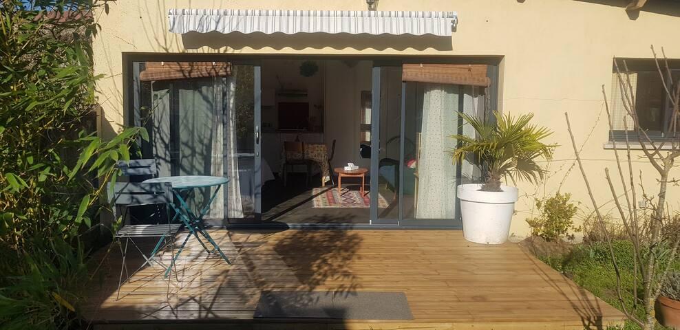 Charmante maison 60m2 avec jardin