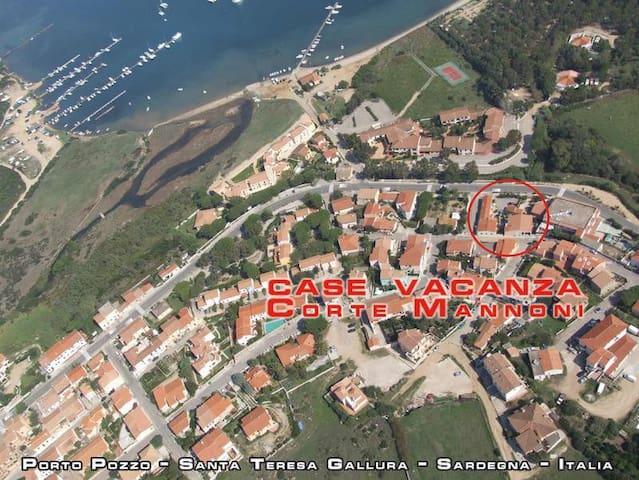 """Corte Mannoni """" Gavina """" - Porto Pozzo - Lägenhet"""