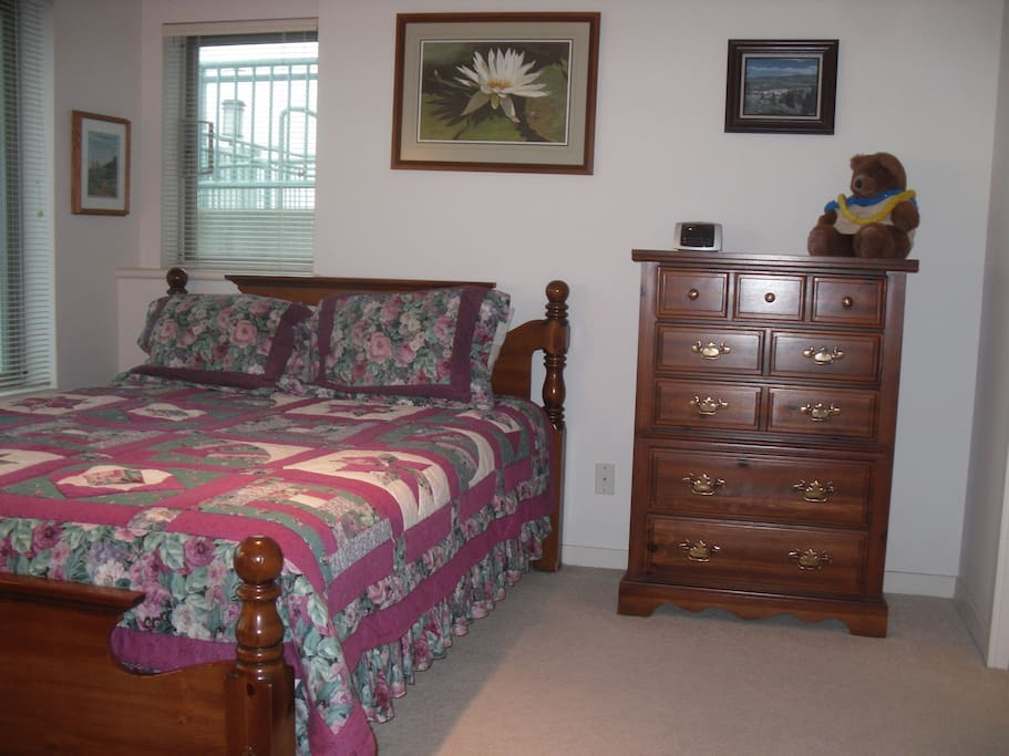 Queen Bed & Chest