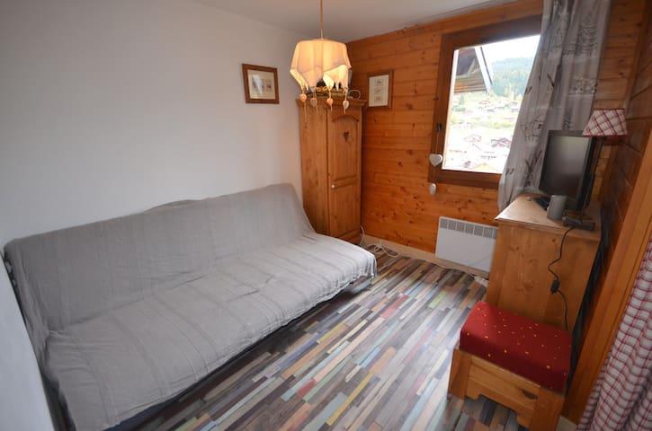 Appartement à 150m du centre du village