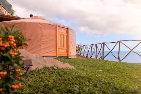 Glamping in a Hidden Paradise - Mango Yurt
