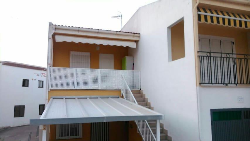Estudio 1ra planta en primera linea de playa - Orpesa - Apartment