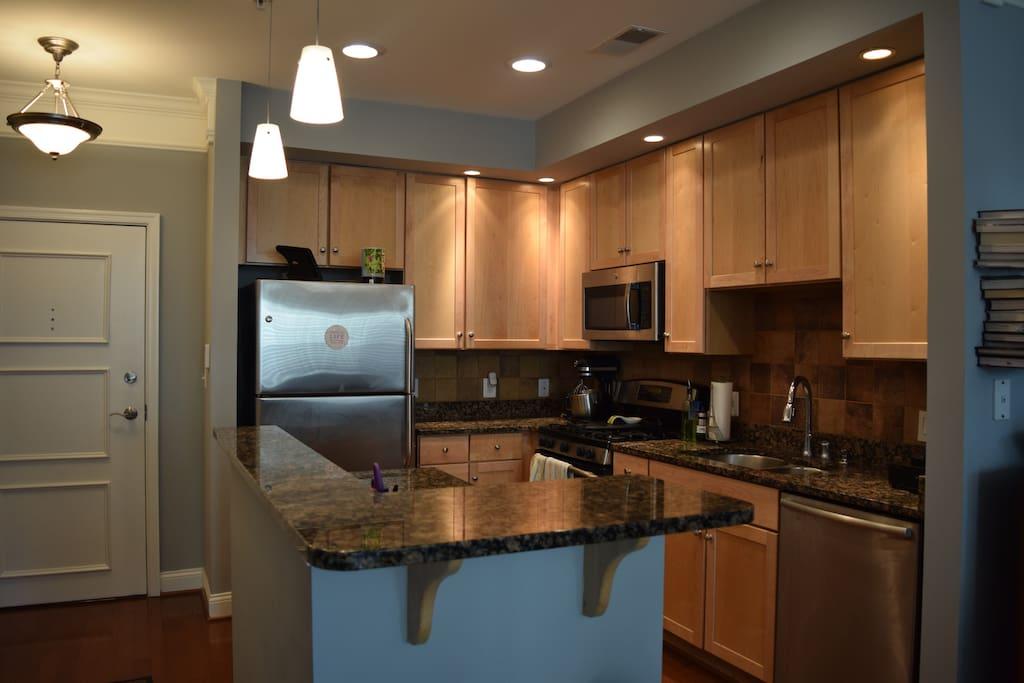 Large open kitchen!